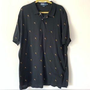 Polo by Ralph Lauren Scorpion Black shirt XXL